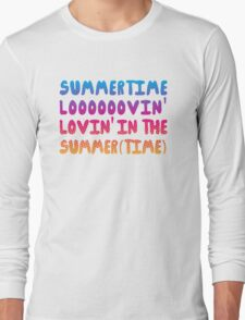 Summertime Lovin' Long Sleeve T-Shirt