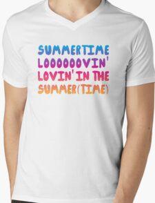 Summertime Lovin' Mens V-Neck T-Shirt