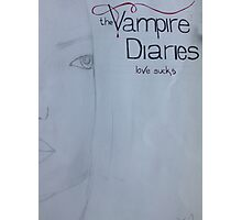 Vampire diaries.  Photographic Print