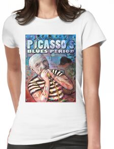 Picasso's Blues Period (version 2) Womens Fitted T-Shirt