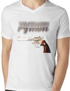 Python Mens V-Neck T-Shirt