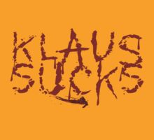 Klaus Sucks by klwomick