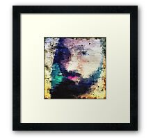 Portrait of the man Framed Print