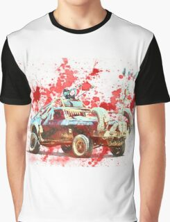Mad Max Car- Bloody Mess Graphic T-Shirt