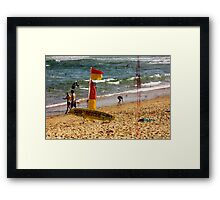 Relax And Take It Easy Framed Print