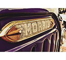 Classic Vehicles - Morris Photographic Print