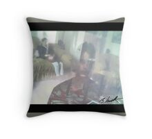 Man From Another Dimension Throw Pillow