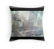 The Place From Another Dimension Throw Pillow