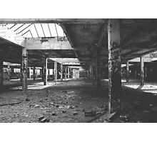 Abandoned Factory Photographic Print