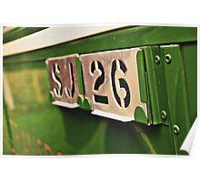 Classic Vehicles - Omnibus Badge Poster