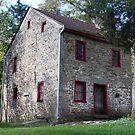 Cross Keys Tavern - Fort Ancient Ohio by Tony Wilder