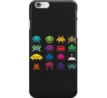 Aliens Invaders From Space iPhone Case/Skin