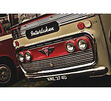 Classic Vehicles - AEC Omnibus Photographic Print