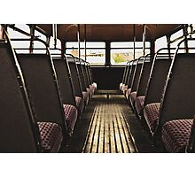 Classic Vehicles - Take a Seat Photographic Print