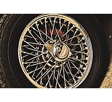 Classic Vehicles - At the Wheel Photographic Print