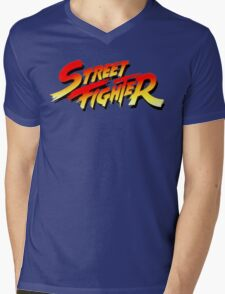 Street Fighter Mens V-Neck T-Shirt