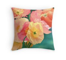 All the Colors of Sunshine Throw Pillow