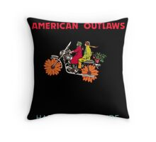 American Outlaws (Harold and Maude) Throw Pillow