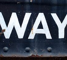 Railway Abstract X by Simon Lawrence