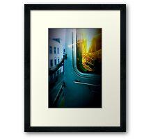 Early Morning Commute Framed Print
