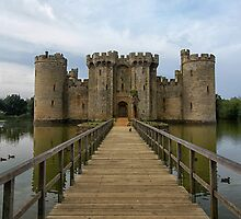 The Jetty to Bodiam Castle by Judi Lion