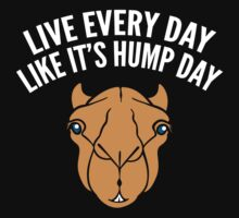 Live Every Day Like It's Hump Day by BrightDesign
