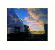 Lift Bridge - Newark Art Print