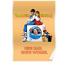 """Problem Child 2 """"Dad in the Wash"""" Poster"""