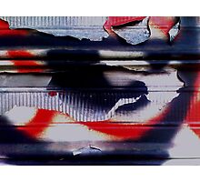 Post Graffiti Photographic Print