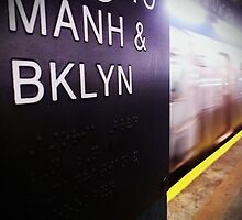 Manhattan and Brooklyn by James Aiken