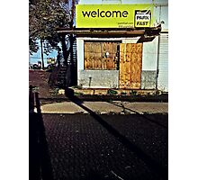 Welcome Photographic Print