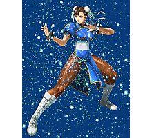 Street Fighter Chun Li Stars Photographic Print