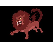 Mr. Manticore Photographic Print