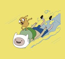 Adventure Time with Finn & Jake One Piece - Short Sleeve