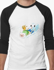 Adventure Time with Finn & Jake Men's Baseball ¾ T-Shirt