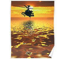 Apache AH-1  Attack Helicopter Poster