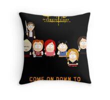 Buffy the Vampire Slayer as South Park Throw Pillow