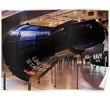 Mercury capsule replica Poster