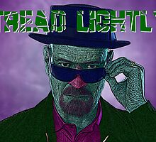 Breaking Bad Walter White Heisenberg Tread Lightly Culture Cloth Zinc Collection by CultureCloth