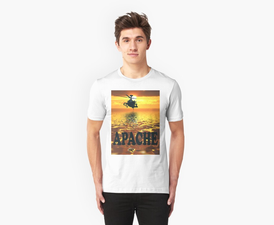 Apache Tee Shirt by Colin  Williams Photography