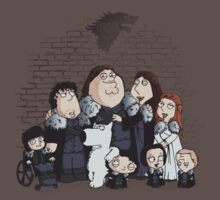 Family Guy in Stark game of thrones by EdWoody