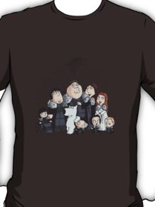 Family Guy in Stark game of thrones T-Shirt