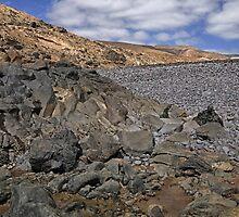 A rockscape in Lanzarote by Judi Lion
