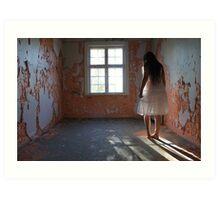 In the abandoned asylum Art Print