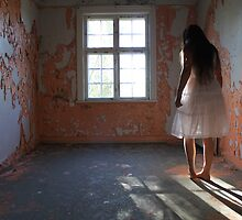 Girl in the abandoned asylum by UpNorthPhoto