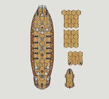 Wargaming Ship Plan 6 HMS Skydiver Unisex T-Shirt