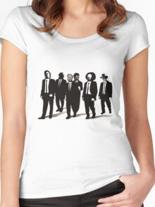 Reservoir Horrors Women's Fitted Scoop T-Shirt