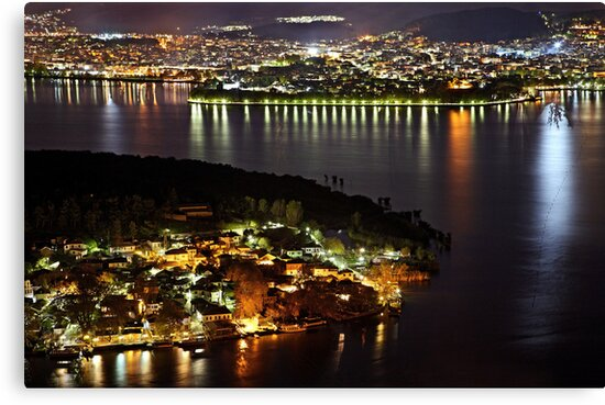 Ioannina, the lake, the islet & the village by Hercules Milas