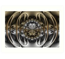 Pewter and Brass IV Art Print