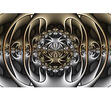 Pewter and Brass IV Photographic Print